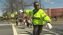 Former NBA Player Trades Court for Crosswalk