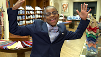 12-year old 'kidpreneur' brings the bowtie back