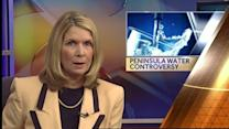 Continuing controversy about peninsula water