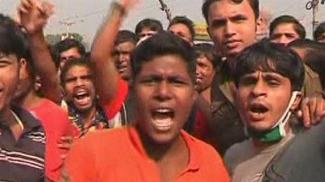 Protests in Bangladesh after deadly factory fire