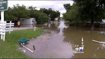 Homes Flooded In Grand Prairie
