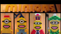 Domino Enthusiast Has Some Fun With Minions