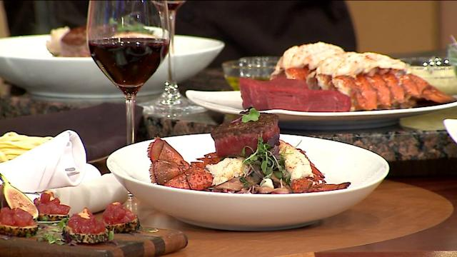Surprisingly Simple Surf And Turf With Linguine