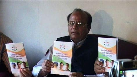 BJP is prime obstacle ahead Food ordinance: Cong