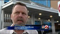 Wounded officer expected to make full recovery