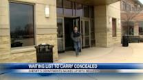 Waiting list for concealed carry permits continues to grow