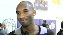 Practice with the L.A. Lakers