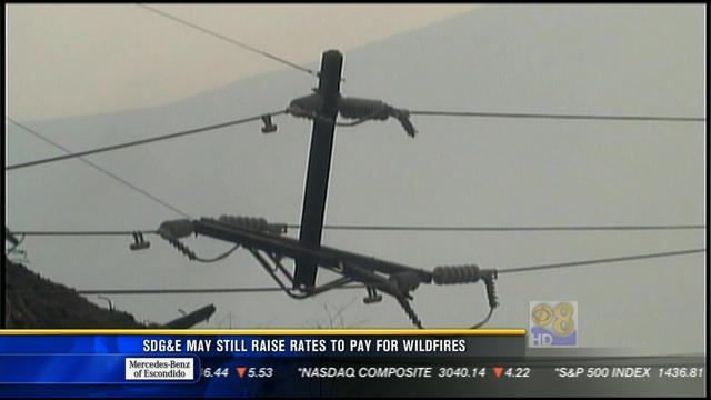 SDG&E may still raise rates to pay for wildfires