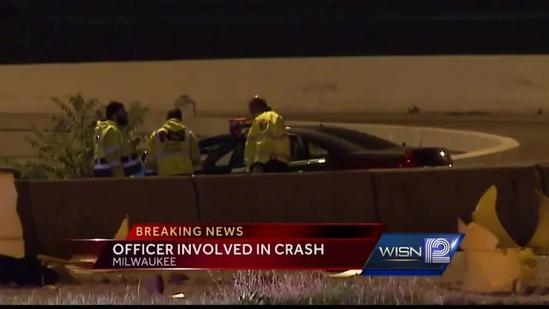 Milwaukee County deputy involved in crash