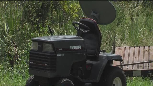 Doctors working to save leg of two year old who was run over by lawn mower