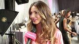 Video: Backstage at VS - Lily Aldridge On Getting Runway Ready After Baby Pearl
