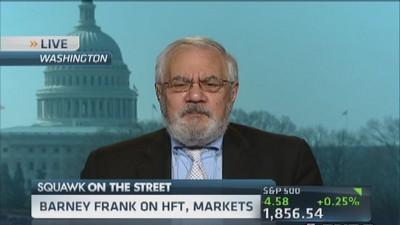 Barney Frank: Should have hearings on HFT
