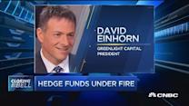 Hedge funds under fire