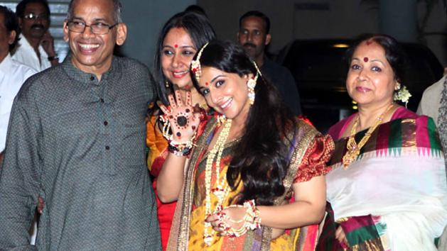 Vidya Balan's wedding rituals begin