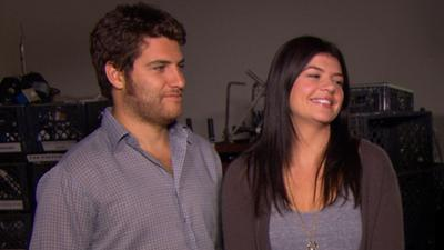 Adam Pally And Casey Wilson Share A Laugh On 'Happy Endings'