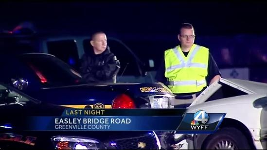 Drunk driving suspect accused of hitting Greenville Co. Deputy's squad