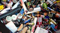 Recycled batteries are in our food