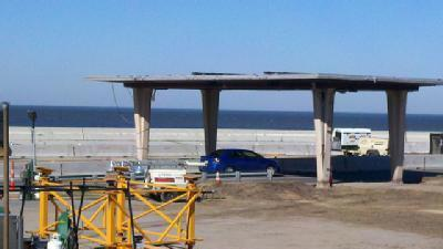 Canopy At Causeway Entrance To Be Torn Down