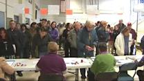 Huge voter turnout in New Hampshire