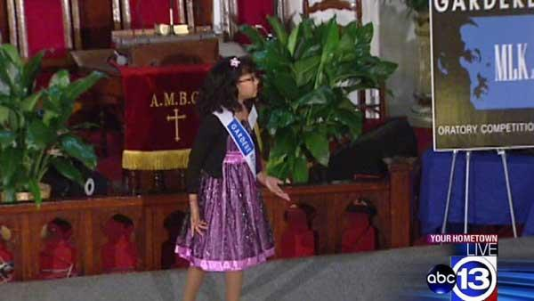 Youngsters learn message of Dr. Martin Luther King, Jr