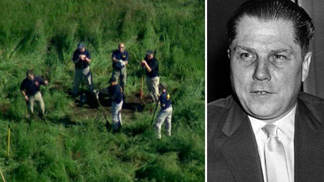FBI investigates potential burial site for Jimmy Hoffa