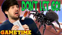SPIDERS ON OUR FACES!!