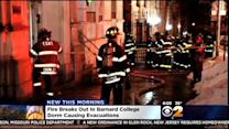 Investigation Underway After Fire Forces Evacuation Of Barnard College Dorm