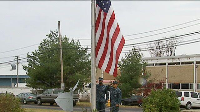 Naval base quiets Morning Colors after neighbors complain