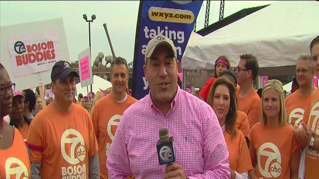 WXYZ races for the cure