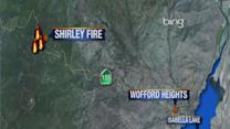 Shirley Fire grows to 2,200 acres