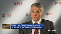 UBS CEO on low interest rates and regulation