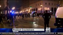 Protesters Arrested, Cited In Clash With Oakland Police Over Curfew Crackdown