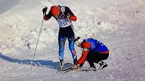 Canada coach on helping Russian skier: I knew what he was feeling