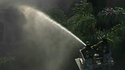 Raw:'Unusual' fire at Florida Mansion Kills Four