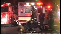 Two children hospitalized after Brooklyn fire