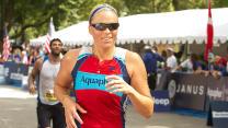 Jennie Finch's triathlon training workout