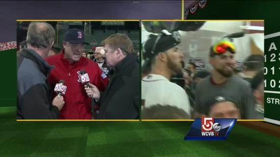 Boston Red Sox manager John Farrell on World Series victory