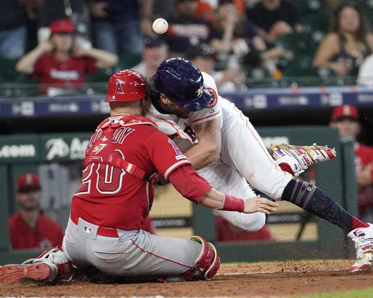 the best attitude 0d9bf fbdfc All-Stars: No 'ill will' from Jake Marisnick in Lucroy collision