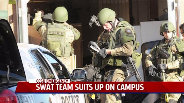 Student Recounts CCSU Campus Lockdown in Wake of Suspected Gunman