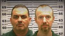 Twelve prison workers on leave after murderers' escape