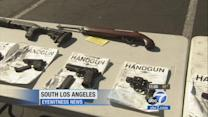 South Los Angeles gang operation nets 35 arrests