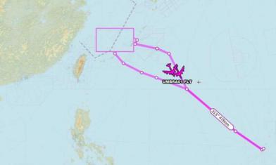 B-52進台飛航情報區 美軍證實