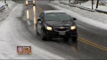 Ice Create Issues For Monday Morning Commuters