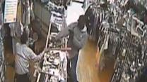 Chicago Store Owner Uses Bat to Fend Off Gunmen