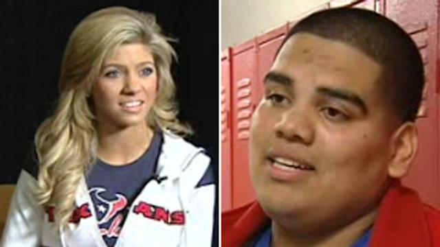 Senior lands date with Houston Texans cheerleader