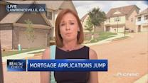 Mortgage applications jump