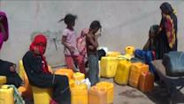 Aid trickles into war-ravaged Yemen