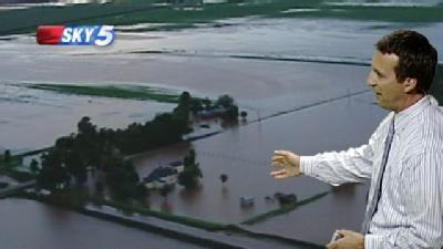 Flooding Reported In Eastern Okla. County