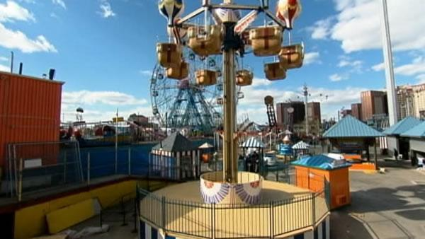 New York's Coney Island reopens Sunday