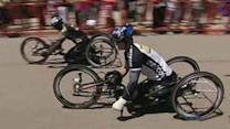 Wounded veterans compete in Warrior Games